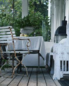 min lilla veranda . . .