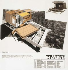 Hesselink Guest Hut/Container House Model, 1994