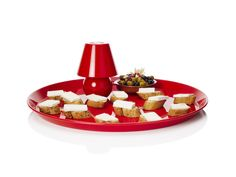 (Fatboy)RED Snacklight by Fatboy Lampe Led, Fun Drinks, Caprese Salad, Finger Foods, Feta, Tapas, Cheese, Snacks, Table Decorations