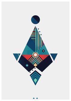 Arrow by Reno Nogaj, via Behance