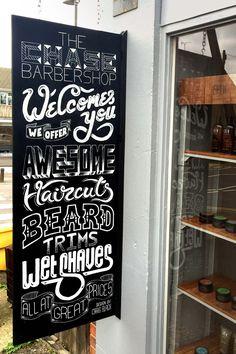 The Chase Barbershop - www.craigblackdesign.com