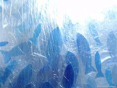 Quadro FISH AND CHEAP_23/2014, 40x30 cm - Plastica e luce su tela - Pesci di plastica riciclata assemblata su tela by FishAndCheap on Etsy