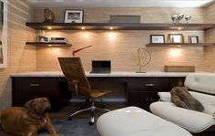 perfect 60+ Simple Home Office Design Ideas for Men