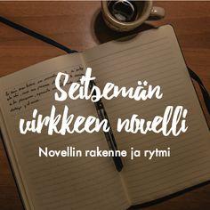 Novellin hyvä pituus on tarinasi mittainen –voit kirjoittaa sivun tai  vaikka seitsemän virkkeen pituisen novellin. Lue blogista, mikä on toimiva  novellin rakenne!