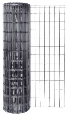 Gah-Alberts Fix-Clip Pro 604882 Welded Mesh Fencing Height 1040 mm / 25 m Roll / Wire Thickness: 2.2 / 2.2 mm / Mesh Width: 50 x 100 mm / Anthracite-Metallic: Amazon.co.uk: DIY & Tools