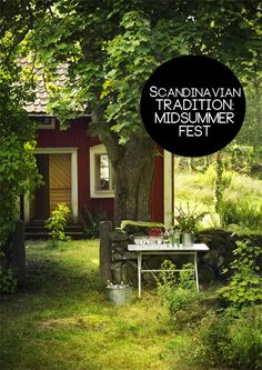 Summer Solstice // Litha // Midsummer #Scandinavian #Tradition: Midsummer Fest from Skimbaco Lifestyle
