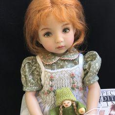 now on eBay. Such a beautiful doll. Mystuffonebay.com #diannaeffnerdoll #redhairandfreckles #sellingmydolls #becomingminimalist #dolldestash #topratedseller #idressdolls