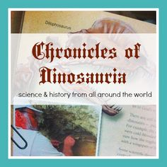 Adventurez in ChildRearing: Chronicles of Dinosauria - from Master Books - a book review