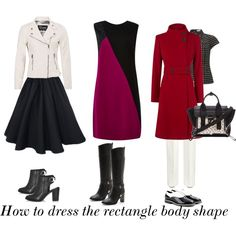 How to dress the rectangle bodyshape