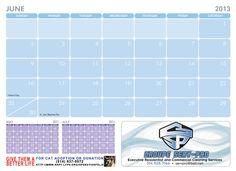 June 2013 2013 Calendar, Fundraising, June, Fundraisers