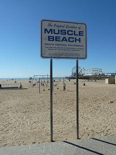 Muscle Beach, California