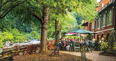 The Historic Tapoco Lodge in Graham County began as an exclusive retreat, but — like the river that flows behind it — has been transformed into a destination for adventurers.
