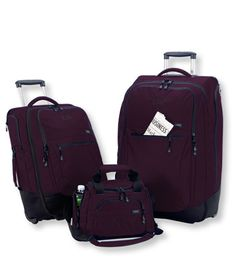Carryall Luggage Set: Carryall Collection | Free Shipping at L.L.Bean $349