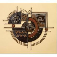 Beautiful Abstract Metal Wall Art Decor by One Classy Place. $121.01. One Classy Place