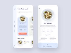 Food Delivery App UI Design designed by Shafi 🧔🏻 for uigate. Connect with them on Dribbble; App Ui Design, User Interface Design, Food Design, App Share, Delivery App, Mobile App Ui, Ui Design Inspiration, Order Food, Ui Ux