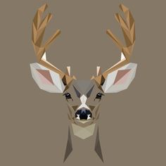 D is for Deer Print by MatMabeMarketplace on Etsy, £30.00