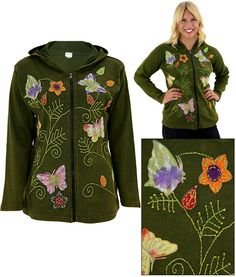 Butterflies At Play Jacket