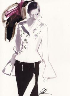 David Downton & Vogue Magazine - Dior Haute Couture — News — Serlin Associates