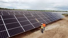 Solar power surging to forefront of Canadian energy. This after their horrific use of Hydraulic Fracturing or Fracking has  largely destroyed Canada.