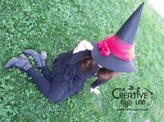 tutorial cappello strega halloween costume fai da te 01 7146058144f7