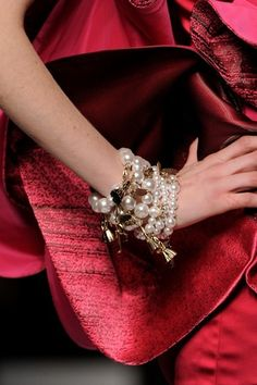 Great look for the fall.  Lots of bling on your arm and everything else simple.