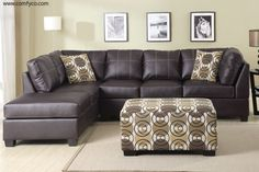 Sectional Sofas, Leather Sectionals, Microfiber Sectional Sofas: P7460