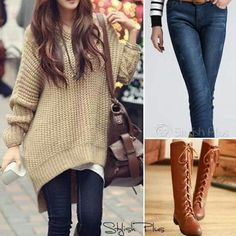 Comfy winter/fall outfit.
