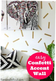 9 DIY Accent Walls for $30 or LESS