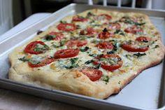 pure deliciousness: best margarita pizza.