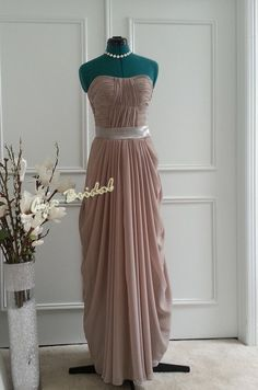 Hey, I found this really awesome Etsy listing at http://www.etsy.com/listing/163533193/long-bridesmaid-dress-chiffon-dress