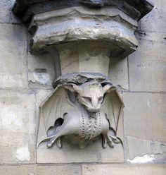 London bat gargoyle