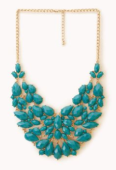 Glam Out Bib Necklace | FOREVER21 - 1000074975