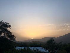 Hot days, hot sunset