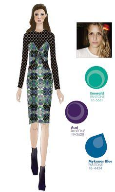 #FCRF13 Designer Inspiration: Charlotte Ronson http://pantone.com/Fall2013