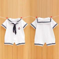 Newborn Infant Baby Boy Girls Sailor Romper Jumpsuit Bodysuit Outfit Clothes Set #Unbranded #DressyEverydayHoliday