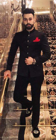 wedding suits men Jodhpuri Royalty-The Elegant Jodhpuri Looks for Men Stylish jodhpuri suit for men this season Dress Suits For Men, Formal Dresses For Men, Formal Men Outfit, Men Dress, Formal Suits For Men, Blazers For Men Casual, Dress Formal, Wedding Dresses Men Indian, Wedding Dress Men