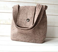 NEW 2012 Amy cashmere wool Rose and Gray  French by ikabags, $129.67