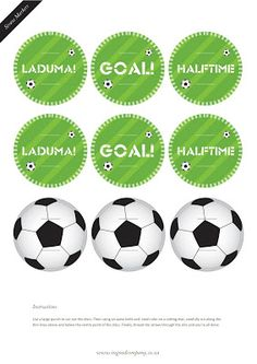 Kara's Party Ideas World Cup Soccer Party {with FREE downloads!}   Kara's Party Ideas