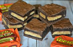 REESE'S PUMPKINS IN JUNE? HOW FUN IS THAT!  I HAD TO USE UP THE LAST OF MY HALLOWEEN PUMPKINS BUT OF COURSE, REGULAR REESE'S CUPS WILL WORK PERFECTLY HERE!  JUST USE ENOUGH TO COVER THE ENTIRE PAN! Ingredients: 1 cup butter 2 cups sugar 2 tsp. vanilla extract 4 large eggs 3/4 cup unsweetened cocoa …