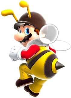 One of the newer costumes from the Mario Galaxy games