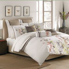 Ivy Duvet Cover, 100% Cotton - Bed Bath & Beyond