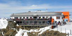 Gipfelrestaurant Stubnerkogel in Bad Gastein Heart Of Europe, Restaurant, Outdoor, Balcony, Outdoors, Diner Restaurant, Outdoor Games, Restaurants, The Great Outdoors