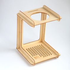 C for Cone  Pourover Coffee Stand by TheMakeLab on Etsy, $65.00