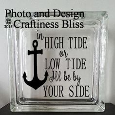 In High Tide or Low Tide I'll Be By Your Side by CraftinessBliss