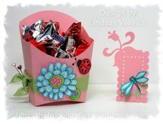 Fry box favor by lindsaymay - Cards and Paper Crafts at Splitcoaststampers