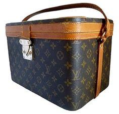 Louis Vuitton Train Case Brown Travel Bag $1,299