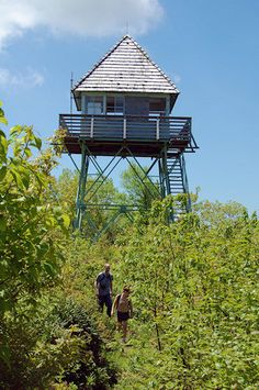 Green Knob Lookout Tower, Blue Ridge Parkway near Mt Mitchell