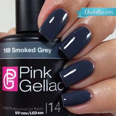 Pink Gellac Smoked Grey - Fall 2015 Majestic Collection - Chickettes.com