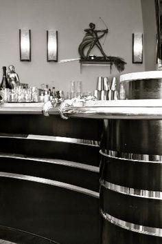 Burgh Island, UK: The Cocktail Bar