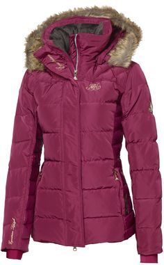 Mountain Horse® Belvedere Down Jacket in Sunrise Pink. MSRP $285